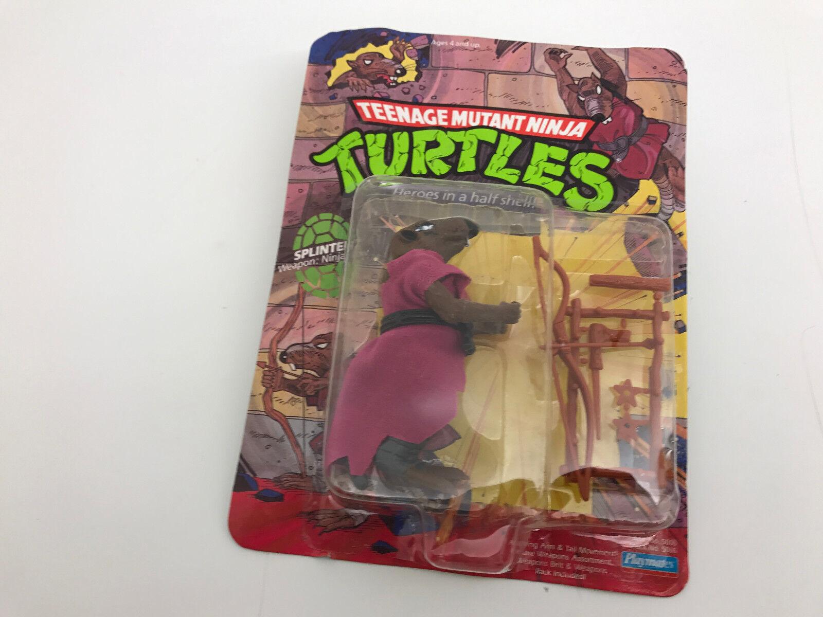 Teenage Mutant Ninja Turtles Heroes In a Half Shell Splinter Action Figure NIP