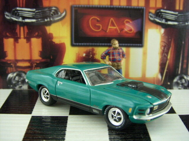 buy 1970 '70 ford mustang mach 1 muscle cars usa diecast johnny