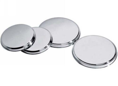 Vitrocerámica Cubre Cubiertas De Acero Inoxidable Reutilizable Cocina Horno Cocina Anillo 4 Pcs