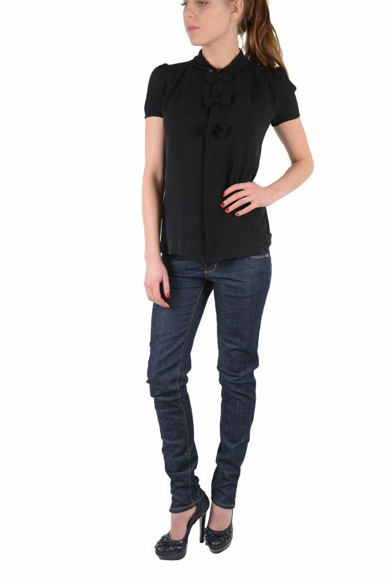 Dsquared Denim Dark bluee Super Slim Jeans US 2