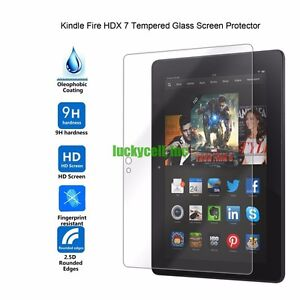 Tablet Tempered Glass Film Screen Protector For Amazon Kindle fire HDX 8.9/""
