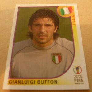 Panini World Cup 2002 Gianluigi Buffon rookie sticker #459 Top Mint Condition