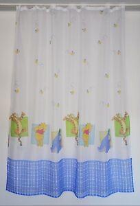 Details zu -135- Kinderzimmer Gardine Winnie Pooh - Gardinen Schals Vorhang