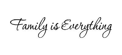 family is everything decals wall decal quotes home decor vinyl