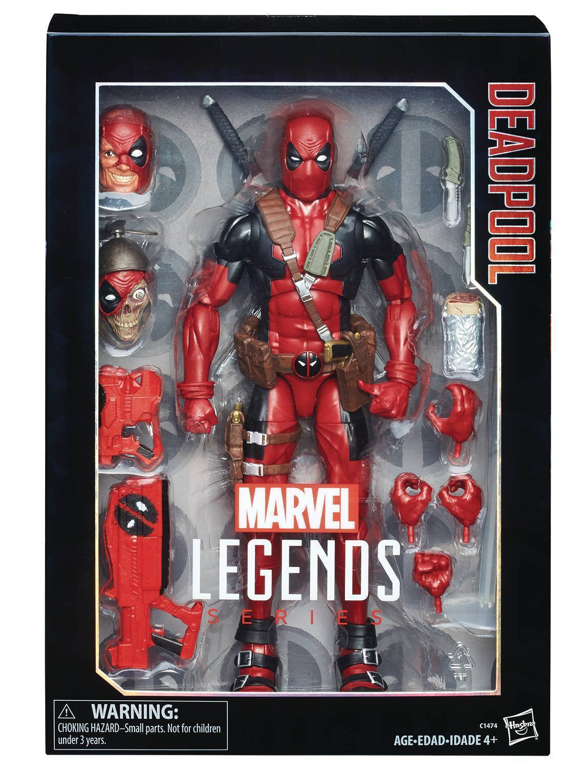 MARVEL LEGENDS  Deadpool  12  Action Figure (Hasbro)