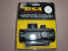BSA Red Dot Scope Deer Hunter w/20mm Weaver mount RD30 6P flashlight torch scope