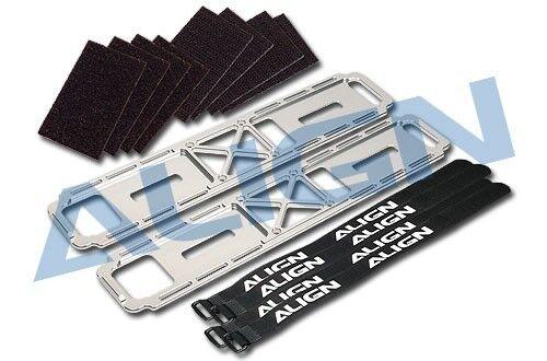 Align Trex 700e Dfc V2 V3 de metal de montaje de la batería h70085