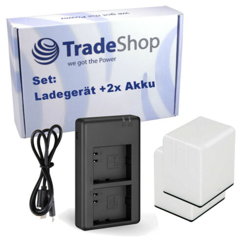 Ladegerät für Arlo//Netgear Go VMA4410 VML4030 VMA4410-10000S 3000mAh 2x Akku