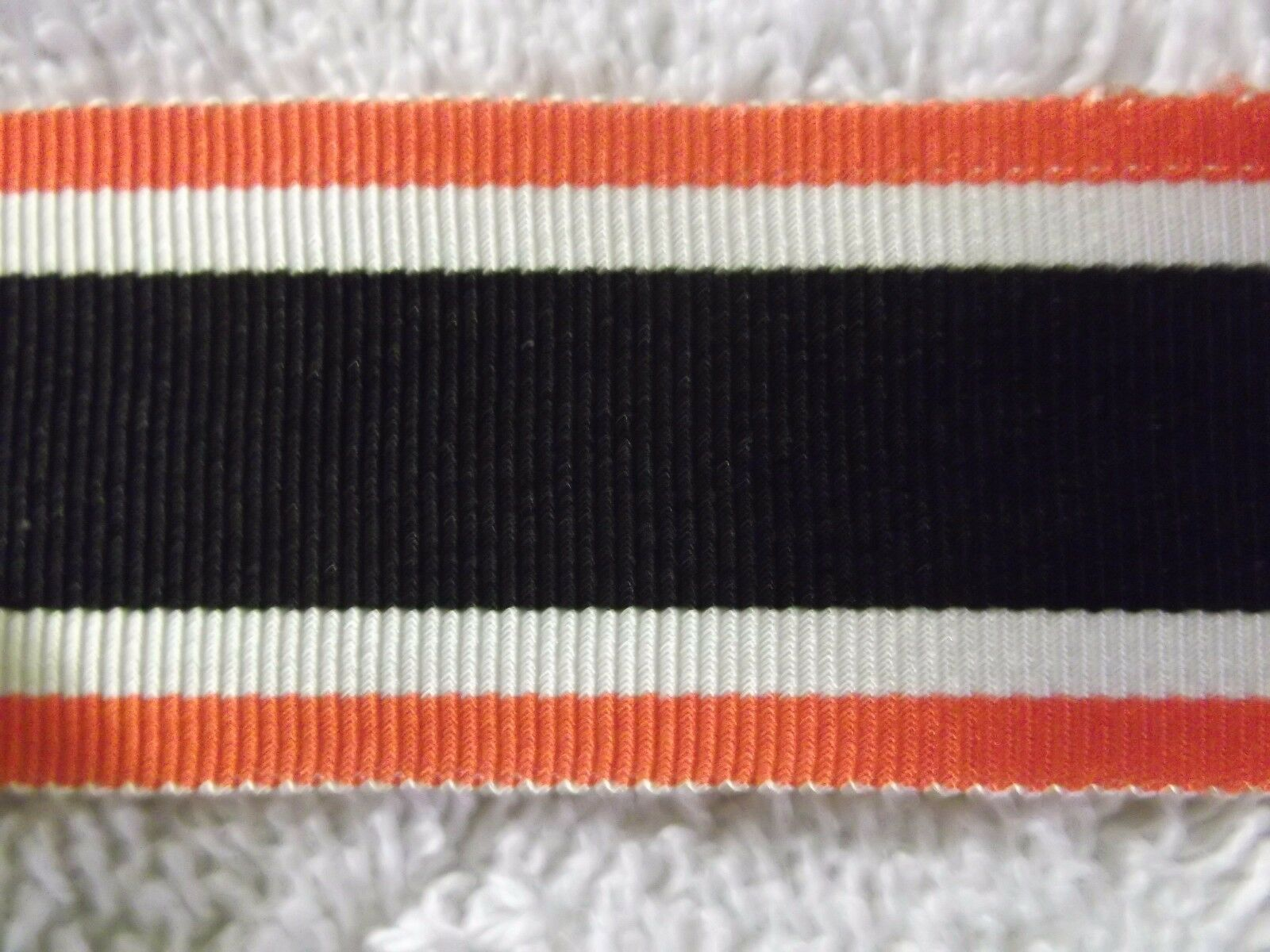 "GERMAN 15mm Wide x 6/"" War Merit Cross  Ribbon Inc UK p/&p."