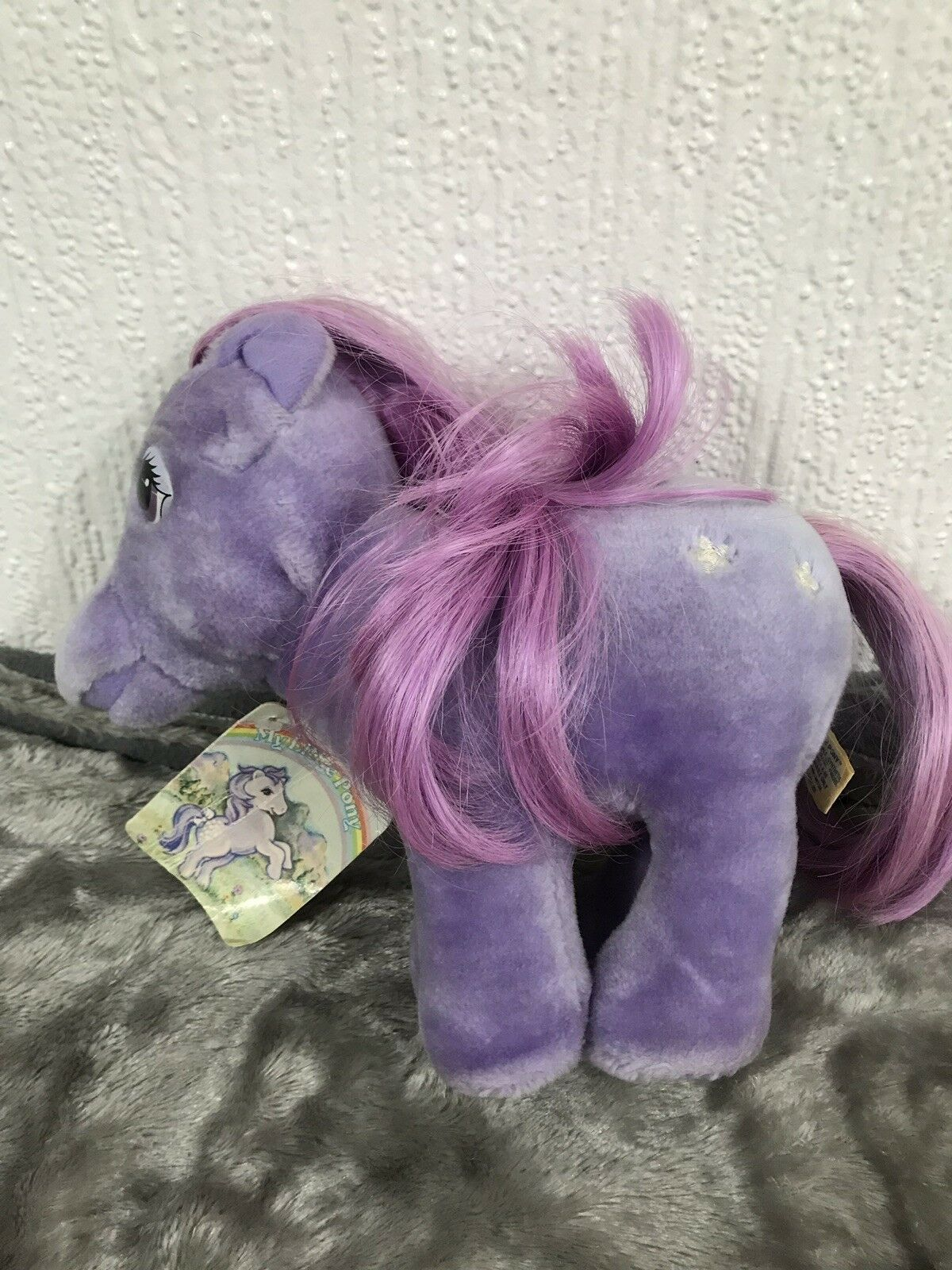 My Little Pony Vintage Softie Plush Blossom With Tag
