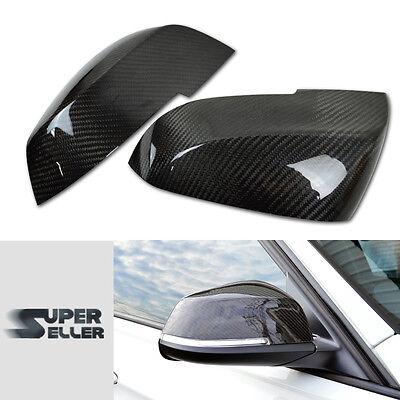 CARBON FIBER Side Mirror Cover F32 F33 F36 X1 E84 Dry 428i 430d 435i 2D