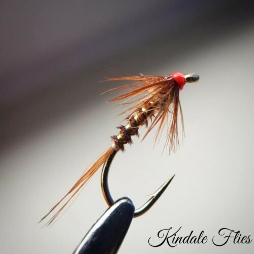 Set of 3 Fly Fishing Flies buzzers Hothead Pheasant Tail Cruncher size 16