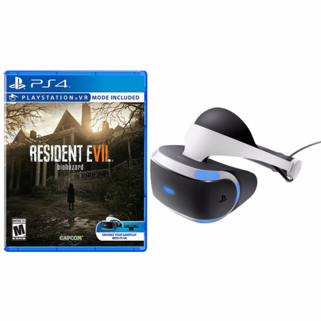PS4 PlayStation VR - Standalone + Resident Evil 7 Biohazard - PlayStation 4