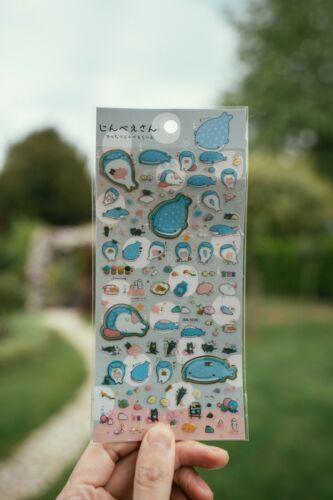 Whale Sumikko Gurashi Sticker Set Japanese Korean Pen Pal Origami Bujo Brand New