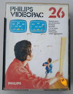 Philips Videopac - Jeu de Paniers 26 complet