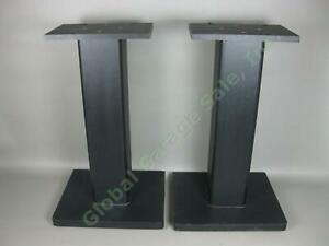 Speaker-Stands-For-Yamaha-NS-10M-Studio-Monitors-23-034-Tall-Particle-Board-Black