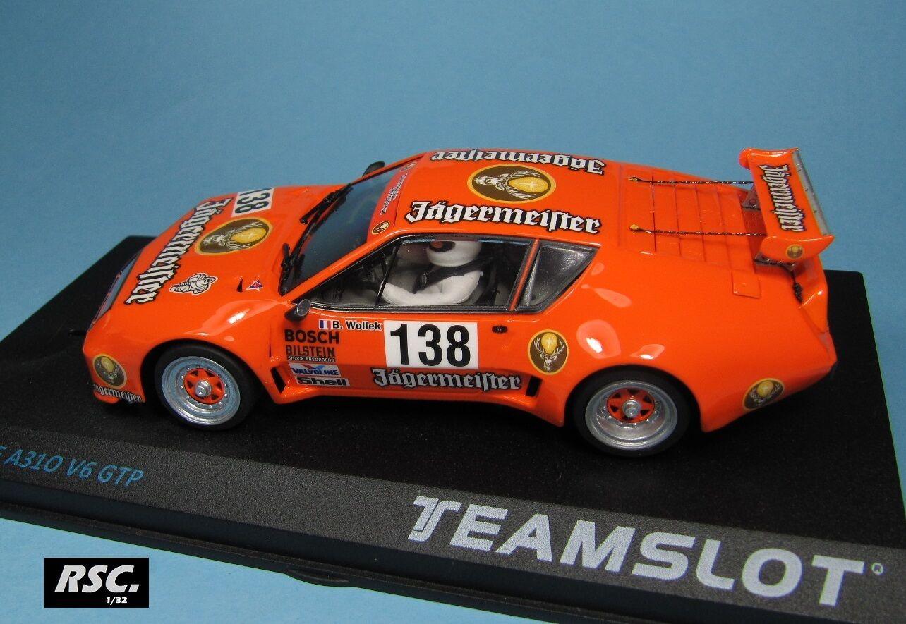 Renault Alpine a310 v6 GTP Jägermeister-Bob Wollek-Team Slot 1 32