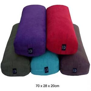 Eco Friendly Large Supportive Bamboo Suede Yoga Bolsters 70cm Pp Cotton Filled Ebay