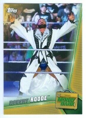 2019 Topps WWE Money in the Bank #16 Robert Roode Wrestling Trading Card