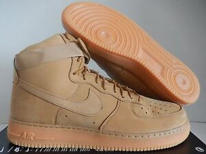 NIKE AIR FORCE 1 HIGH 07 LV8 WB FLAX-WHEAT SZ 15 [882096-200]