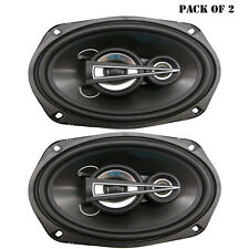 Pair of New Lanzar MX693 6'' x 9'' 600 Watts 3 Way Triaxial Speakers