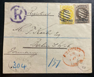 1901-St-Helena-Registered-Cover-To-Berlin-Germany-SG-43