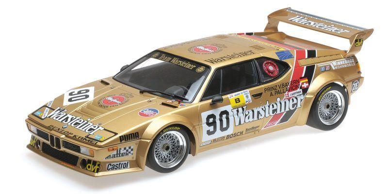 Bmw M1 Gr.b Warsteiner Pallavicini Winther Von Bayern 24h Le Mans 1983 1 12