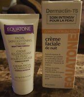 Dermactin Ts Night Time Facial Cream 2 Oz Skin Tone Correcting Equatone