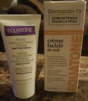 Dermactin Ts Night Time Facial Cream 2 Oz Skin Tone Correcting Equatone