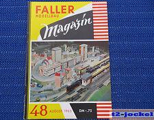 Faller  AMS --  Modellbau Magazin 48 von 1965 !