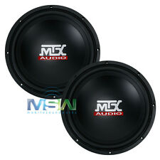 "(2) MTX AUDIO TN10-04 10"" TERMINATOR Series 4-OHM CAR AUDIO SUBWOOFERS *PAIR*"