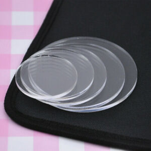 Acrylic-Clear-Round-Circle-Pressure-Plate-Clay-Pottery-Sculpture-Tool-Child-DIY