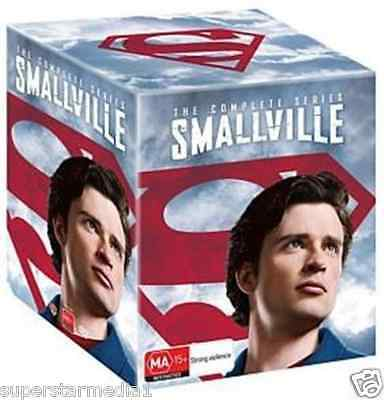 Smallville - Complete Series : Seasons 1-10 : NEW DVD