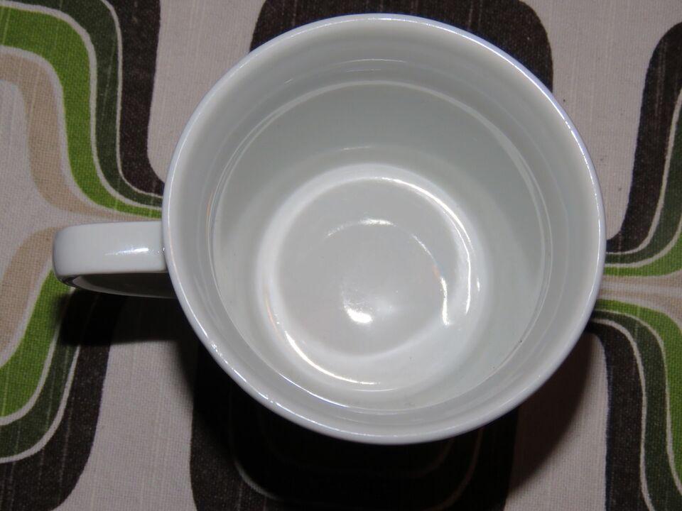 Porcelæn, Kaffekop med troldebørn, Kahla