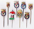 Vintage enamel & metal BENFICA pin badge Football Club Portugal Lisbao