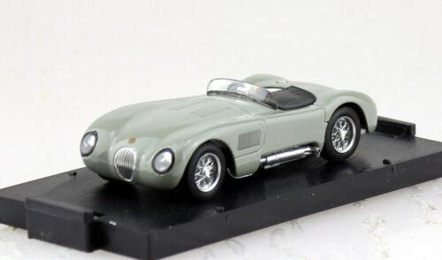 Jaguar C-Type 1953 grau 1:43 Brumm Modellauto R360-04