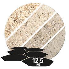 gewaschender weisser Beachsand 0-2 mm Spielsand Aquarium 0,478 €//kg 25 kg