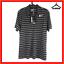 Nike-Golf-Mens-Polo-Shirt-M-Medium-Dri-Fit-Collared-T-shirt-Black-Striped-Tour thumbnail 1