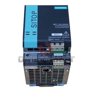 SIEMENS-NEW-6EP1-334-3BA00-SITOP-PS-STABILIZED-POWER-SUPPLY-10A-24V-DC