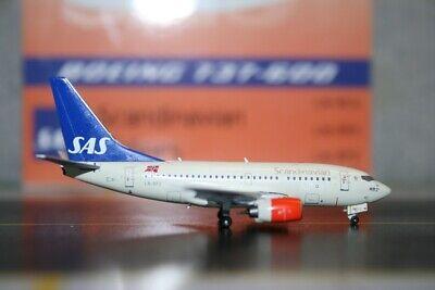 Scandinavian Airlines Bera Viking B737-600 1:400 LN-RPZ Die-cast airplane model