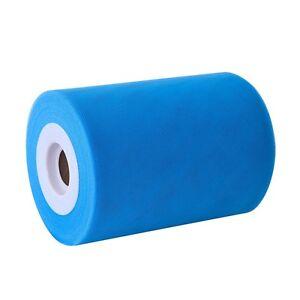 10m-Tulle-15cm-Bleu-fete-mariage-decoration-maison-voiture-15-cm
