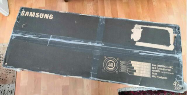 "Ecran Samsung 49"" LED - C49RG90SSU · 5120 x 1440 pixels - NEUF #CKDB"