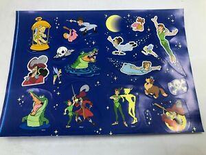 Vintage-Disney-Peter-Pan-Sticker-Sheet