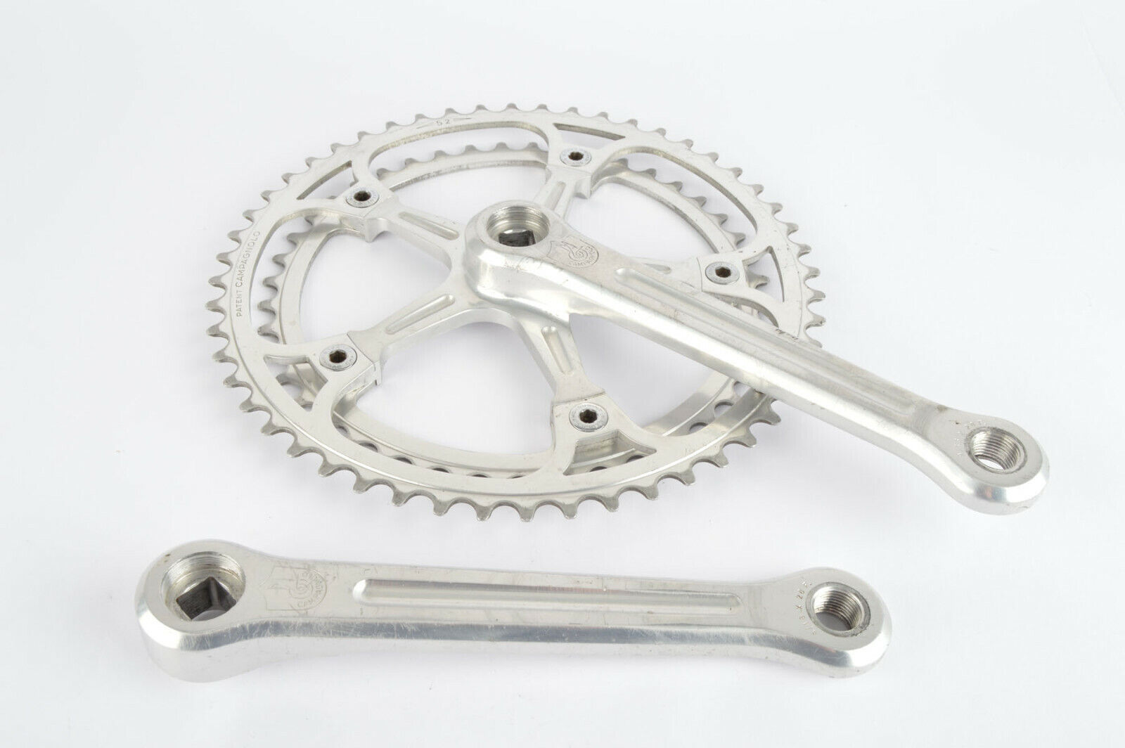 CAMPAGNOLO SUPER RECORD    1049 a crankset with 44 52 teeth and 170mm length 1977 92c20f