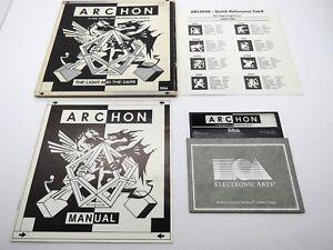 Archon-The-Light-and-the-Dark-Atari-400-800-1200XL-Box-Disk-amp-Manual-NTSC