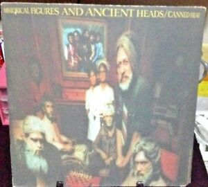 CANNED-HEAT-Historical-Figures-amp-Ancient-Heads-Album-Released-1971-Vinyl-Record