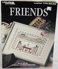 Friends Cross Stitch Book 6 by Barbara Bourgeau Richards Leisure Arts 779