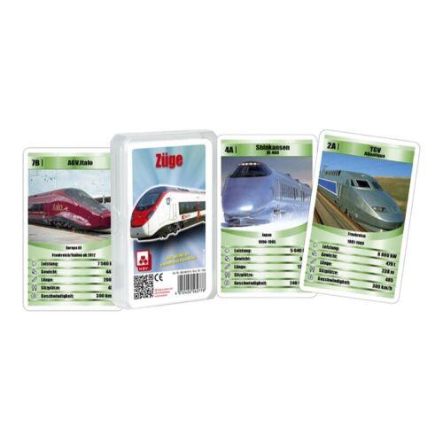 Züge Trumpf Quartett 32 Karten Nürnberger Spielkartenverlag 05619910110 1249