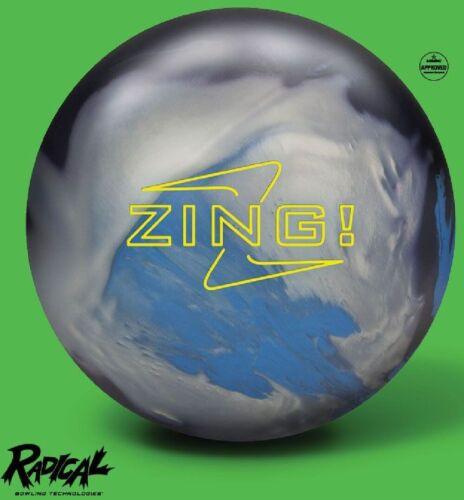 16lb Radical ZING Hybrid Reactive Bowling Ball Newest