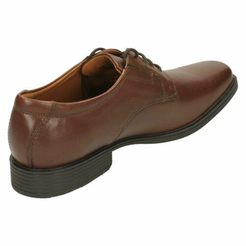mens TILDEN PLAIN  Leather lace up shoe By Clarks £49.99